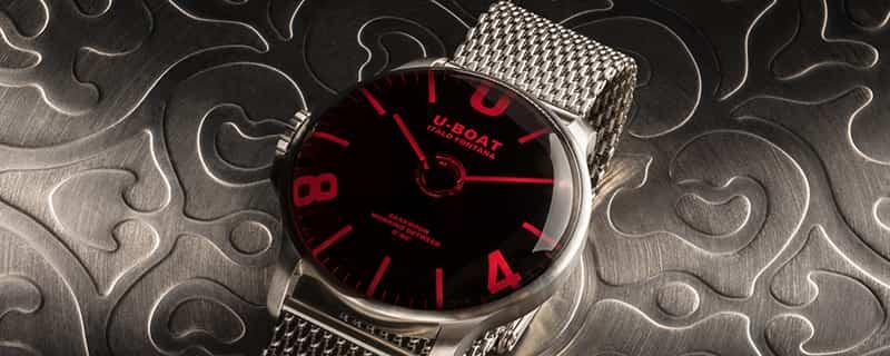 U-BOAT(ユーボート) 腕時計 ダークムーン