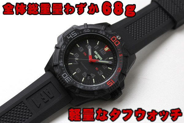 USAGENCY Watch AIRFORCE 腕時計 クロノグラフ