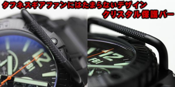 USAGENCY腕時計 クリスタルガラス保護バー