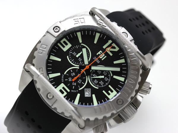 USAGENCY腕時計クロノグラフダイヤル