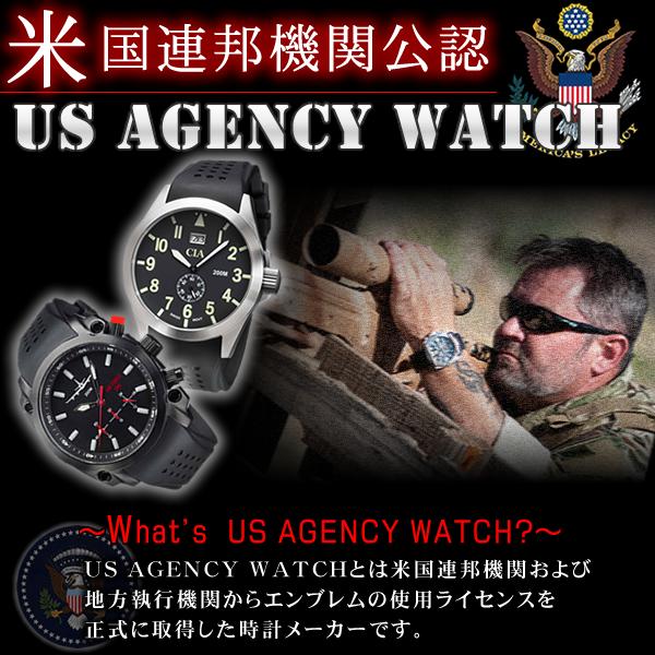 アメリカ連邦政府公認のミリタリーウォッチ USAGENCYWATCH