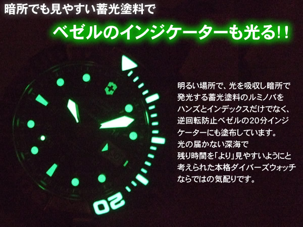 VICTORINOX ビクトリノックス  腕時計 DIVEMASTER500 ルミノバ