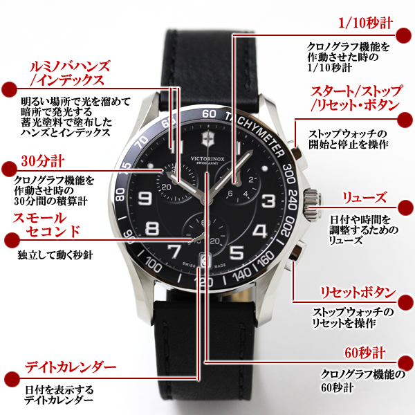 VICTORINOX ビクトリノックス  腕時計 クロノクラシック