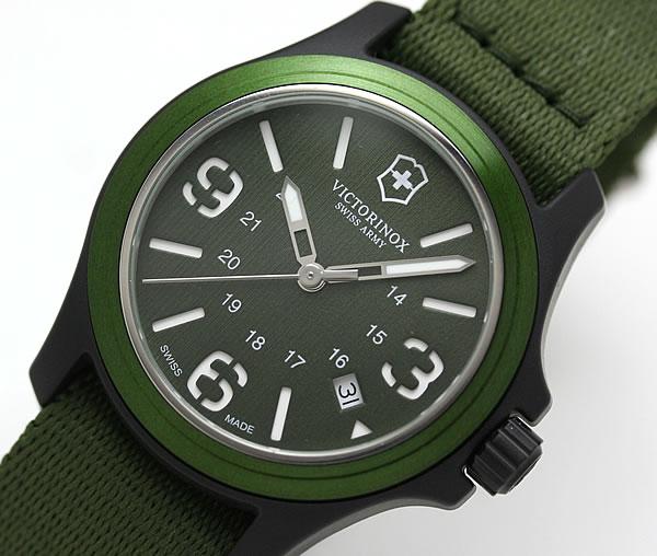ビクトリノックス スイスアーミー オリジナル グリーン