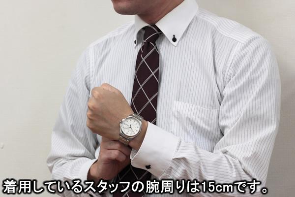 VICTORINOX ビクトリノックス 241548-1 腕時計 正美堂 男性スタッフ着用画像