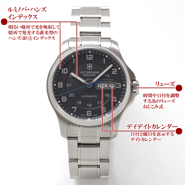 VICTORINOX ビクトリノックス  腕時計 オフィサーオートマティック