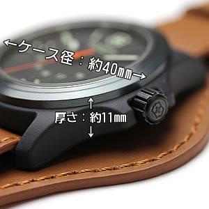 ビクトリノックス時計 ケース大きさ