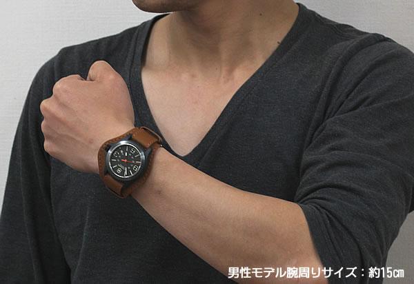 ミリタリー風腕時計