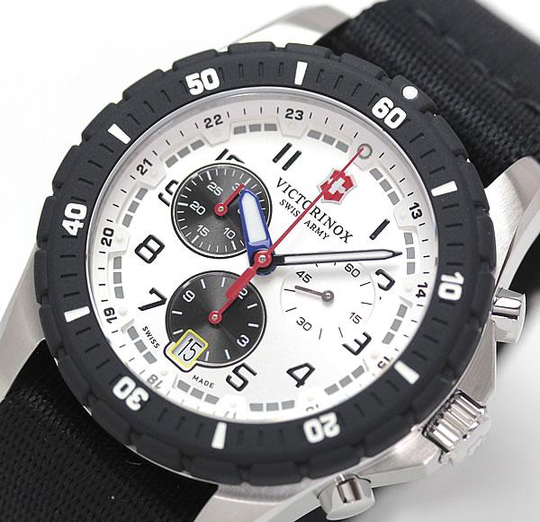 ビクトリノックス アウトドア クロノグラフ腕時計