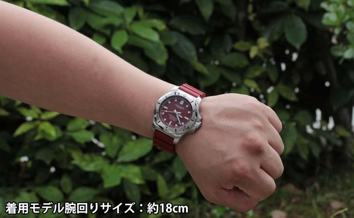 着用モデル腕回りサイズ:約18cm 241736