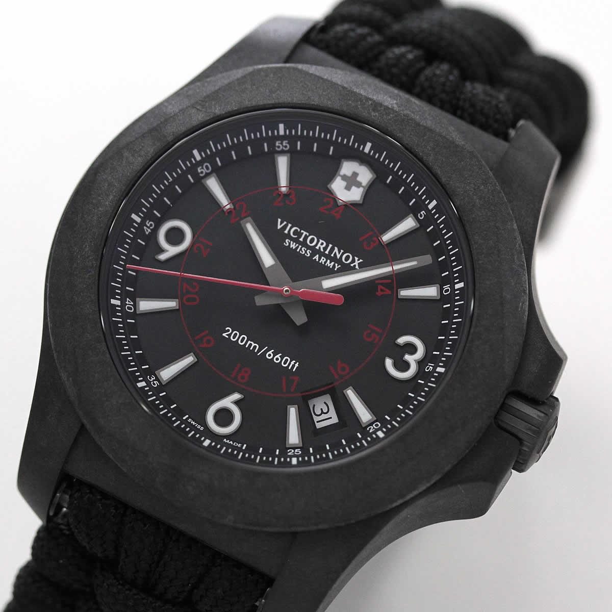 ビクトリノックス スイスアーミー 時計 イノックス ブラック
