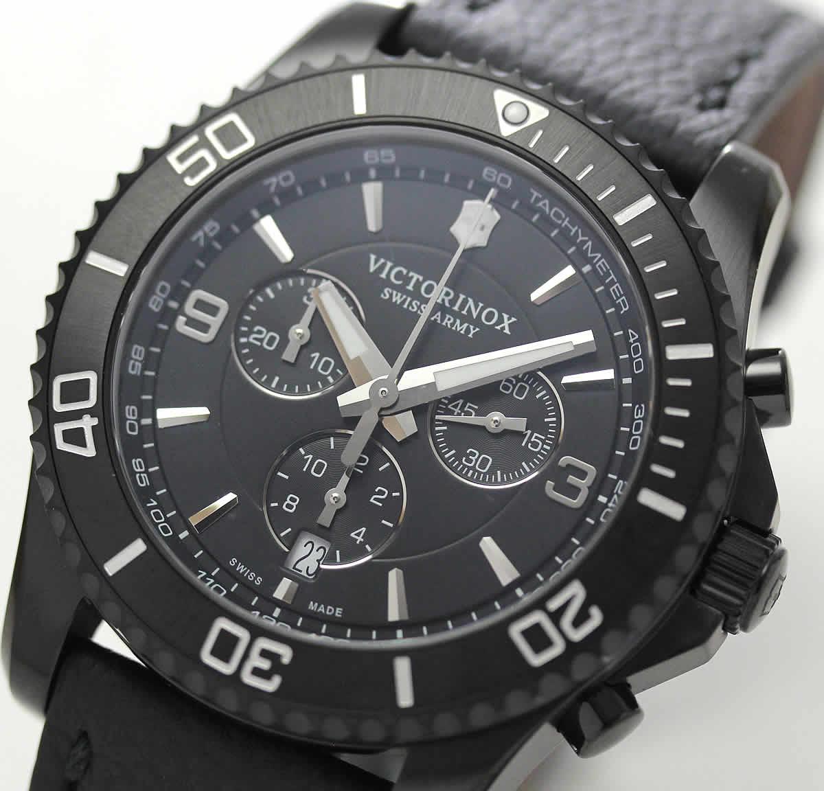 ビクトリノックス スイスアーミー  クロノグラフ 腕時計