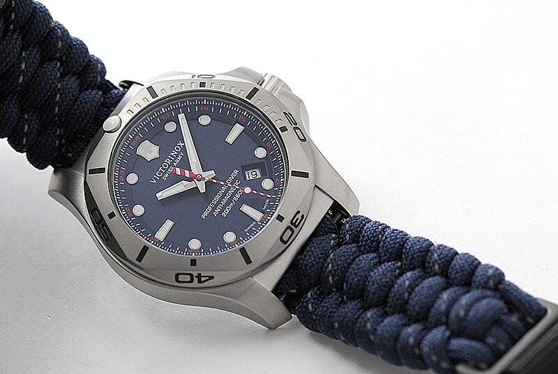 ビクトリノックススイスアーミー I.N.O.X. (イノックス) プロフェッショナルダイバー /オレンジベルト/付替ラバーベルト付属/241843 腕時計
