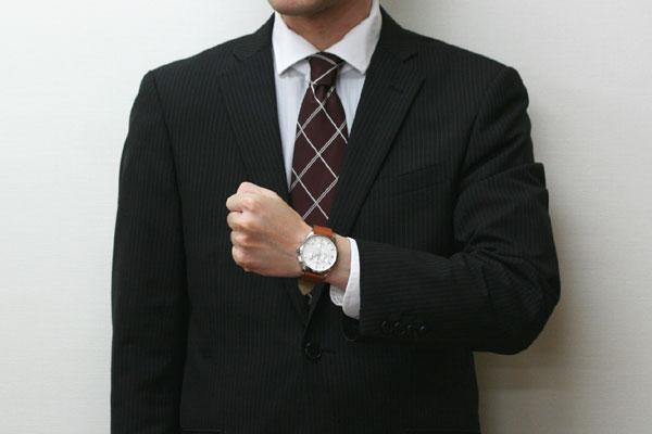 スーツに似合う VICTORINOX SWISSARMY アライアンスクロノ
