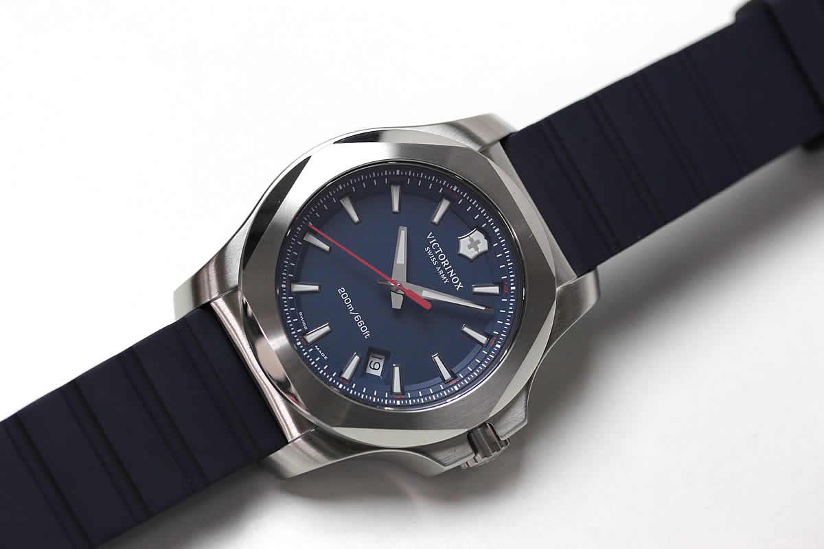 Victorinox スイスアーミー 時計 イノックス ブルー