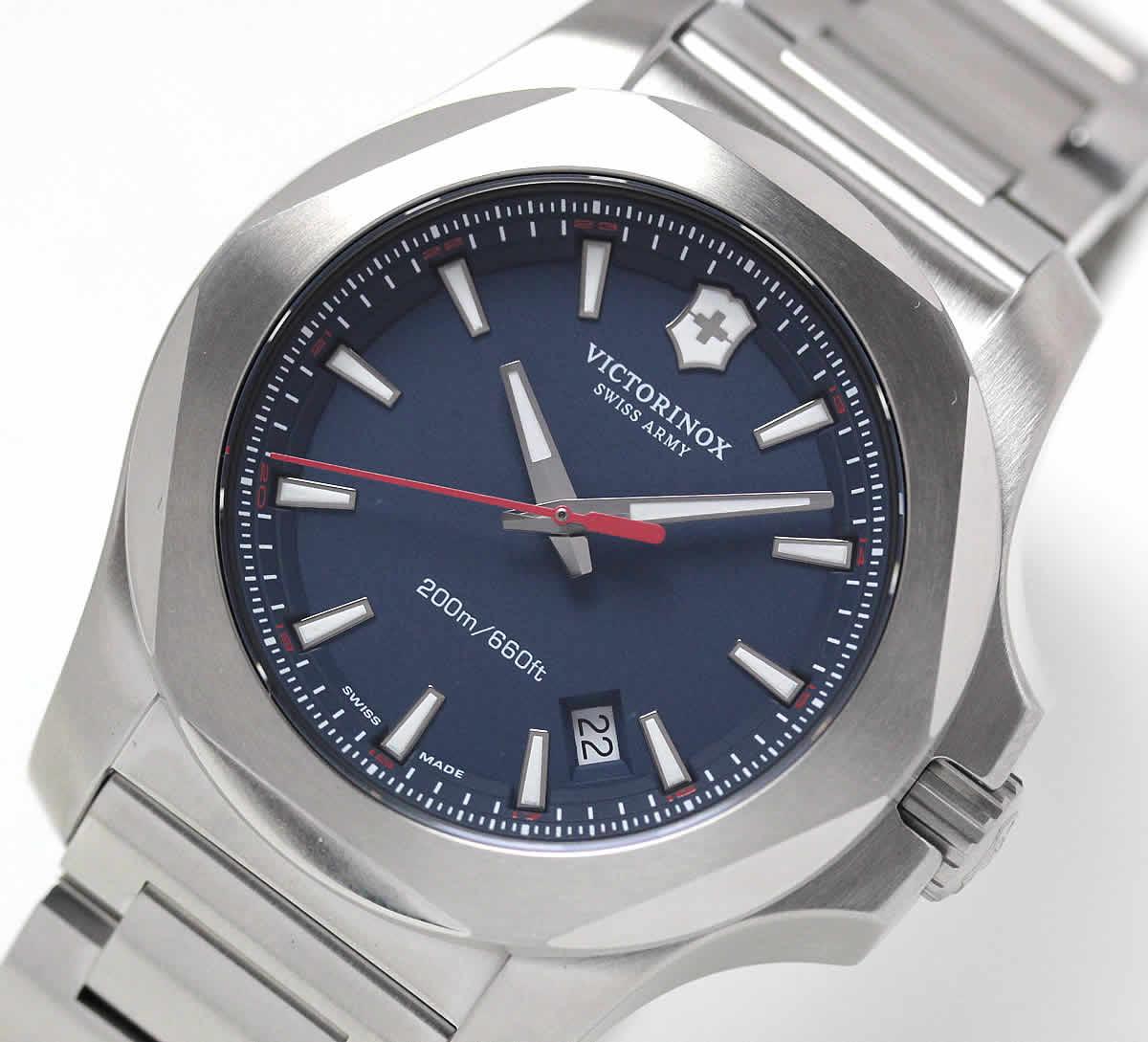 ビクトリノックス スイスアーミー 時計 イノックス ブルー