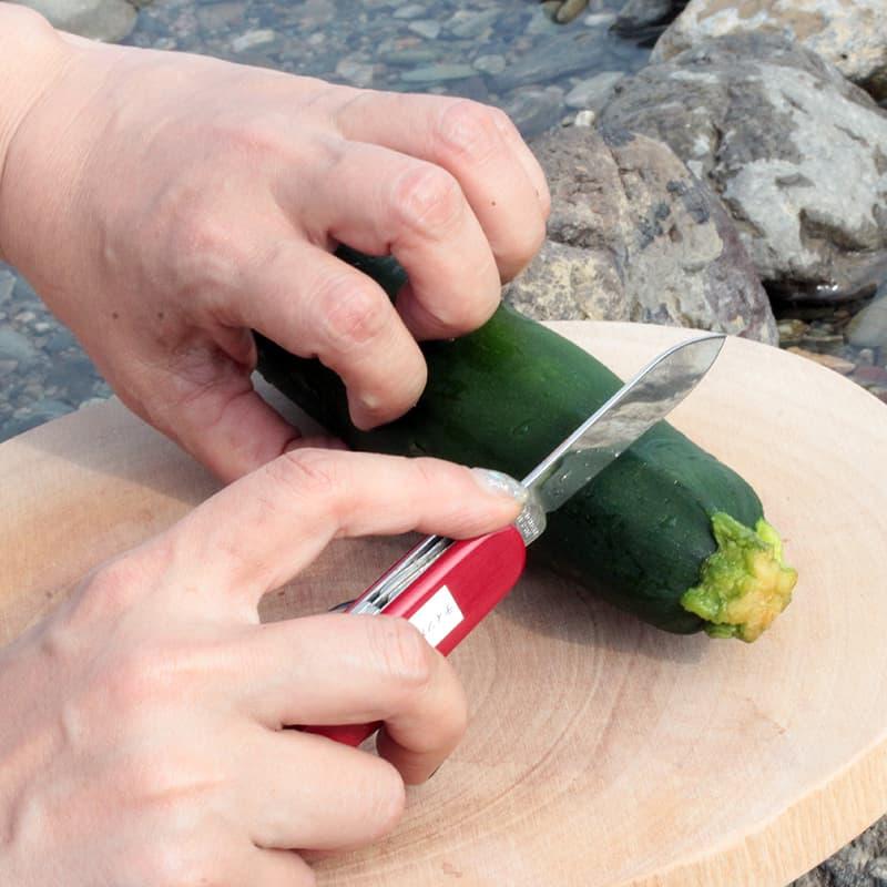 キャンプ 野菜 切る ナイフ