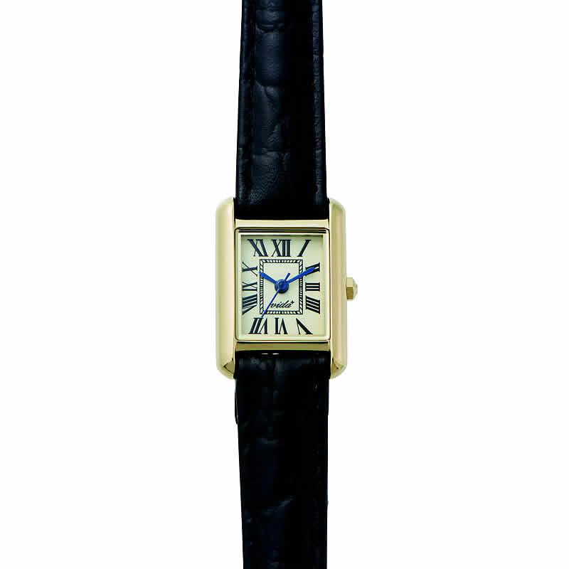[ヴィーダ プラス]VIDA+ 腕時計 3針 MiniRectangular(ミニレクタンギュラー) J83904 LE-BK レディース