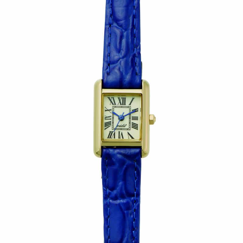 [ヴィーダ プラス]VIDA+ 腕時計 3針 MiniRectangular(ミニレクタンギュラー) J83905 LE-BR レディース