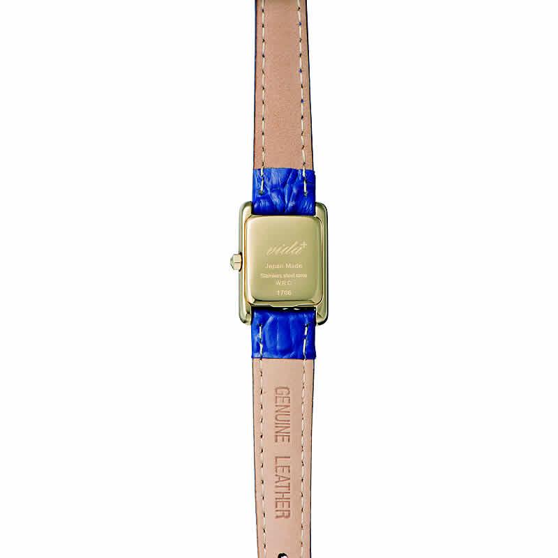 ヴィーダプラス腕時計 裏蓋
