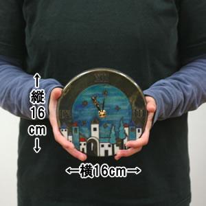Antonio Zaccarellaアントニオ・ザッカレラ 掛け時計 ザッカレラZ101A【zc101a04】 サイズ
