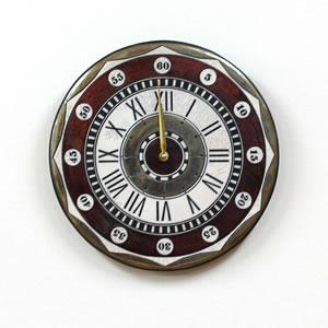Antonio Zaccarellaアントニオ・ザッカレラ 掛け時計 ザッカレラZ135【zc135001】 レッド  掛け(振り子無し)