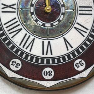 Antonio Zaccarellaアントニオ・ザッカレラ 掛け時計 ザッカレラZ135【zc135001】 レッド  表面