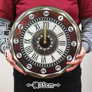 Antonio Zaccarellaアントニオ・ザッカレラ 掛け時計 ザッカレラZ135【zc135001】 レッド  サイズ
