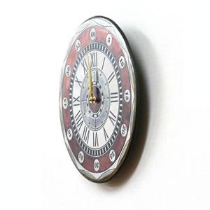 Antonio Zaccarellaアントニオ・ザッカレラ 掛け時計 ザッカレラZ135【zc135001】 レッド  側面