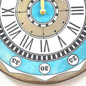 Antonio Zaccarellaアントニオ・ザッカレラ 掛け時計 ザッカレラZ135【zc135004】 ブルー 表面