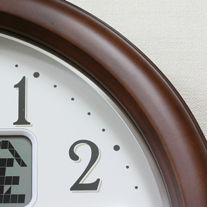 CITIZEN シチズン電波掛け時計 インフォームナビEX【4fy620-006】 木枠