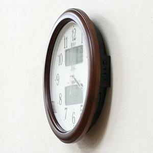CITIZEN シチズン電波掛け時計 インフォームナビEX【4fy620-006】 側面