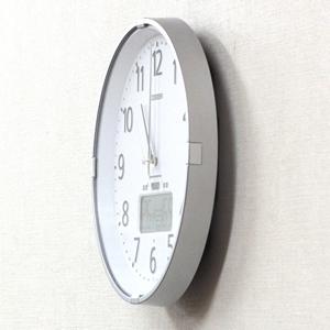 CITIZEN シチズン電波掛け時計 インフォームナビS【4fy621-019】 側面