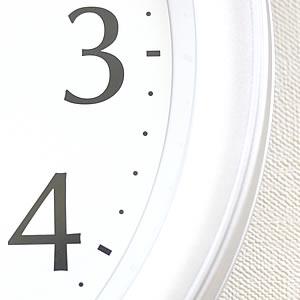 CITIZEN シチズン 電波掛け時計 ネムリーナカレンダーM02【4FYA02-019】 枠