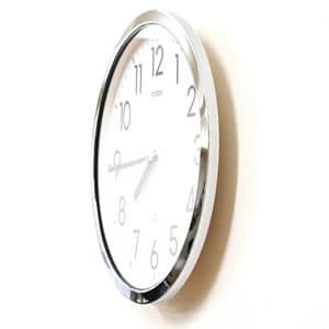 CITIZEN シチズン 防湿・防塵掛け時計 スペイシーM522【4MG522-050】 側面