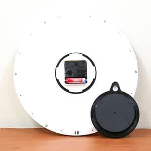 CITIZEN シチズン 防湿・防塵掛け時計 スペイシーM522【4MG522-050】 裏面
