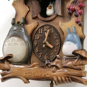 CITIZENはと掛け時計 となりのトトロ掛け時計