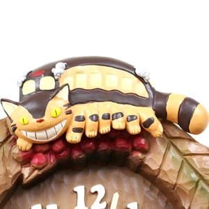 となりのトトロキャラクター掛け時計 トトロM837N【4MJ837MN06】 ネコバス
