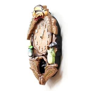 となりのトトロキャラクター掛け時計 トトロM837N【4MJ837MN06】 側面