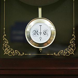 CITIZEN/シチズン 報時付きクオーツ掛け時計 アタシュマンR【4MJA01RH06】 飾り振子付