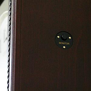 CITIZEN/シチズン 報時付きクオーツ掛け時計 アタシュマンR【4MJA01RH06】 モニター