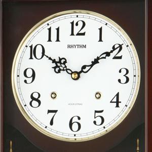 CITIZEN/シチズン 報時付きクオーツ掛け時計 アタシュマンR【4MJA01RH06】 文字盤