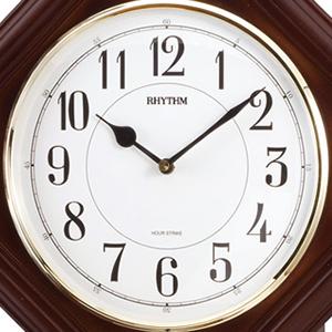 CITIZEN/シチズン 報時付きクオーツ掛け時計 ベングラーR【4MJA03RH06】 文字盤