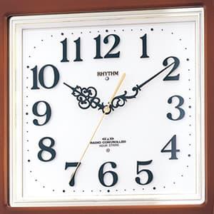 CITIZEN シチズン 電波掛け時計 ネムリーナM468R【4mn468rh06】 文字盤