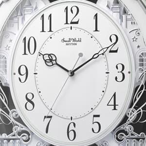CITIZEN シチズン 電波掛け時計 スモールワールドプラウド【4MN523RH05】 文字盤
