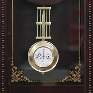 CITIZEN/シチズン 報時付き電波掛け時計 ルイスデールR【4MNA02RH06】 飾り振り子