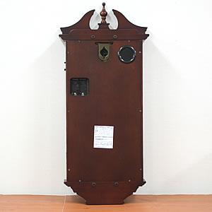 CITIZEN/シチズン 報時付き電波掛け時計 ルイスデールR【4MNA02RH06】 裏面