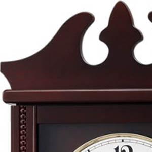 CITIZEN/シチズン 報時付き電波掛け時計 ペデルセンR【4MNA03RH06】 木枠