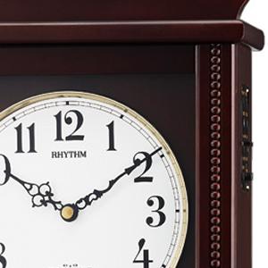 CITIZEN/シチズン 報時付き電波掛け時計 ペデルセンR【4MNA03RH06】 操作 ボタン