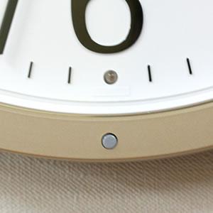 CITIZEN シチズン 電波掛け時計 パルウェーブM603B【4MY603-B19】 受信表示ランプ 強制受信ボタン